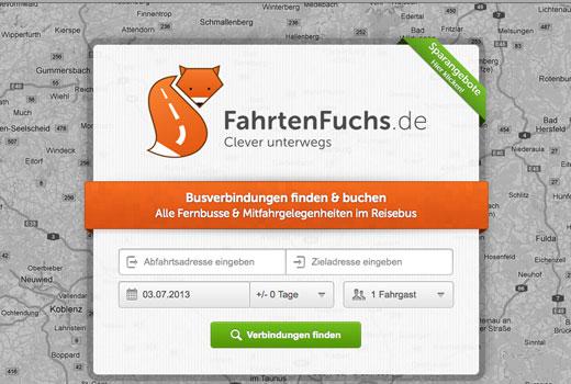 5 neue Start-ups: FahrtenFuchs, Euromoda, Jedd.it, Stellenpakete.de, Notism