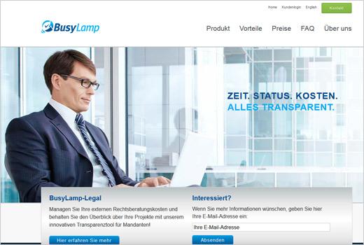 BusyLamp sorgt für Kosten- und Projekt-Transparenz in der Rechtsberatung