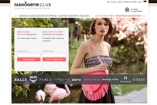 Fashionette peilt 2013 zweistelligen Millionenumsatz an – Fashionette Club startet