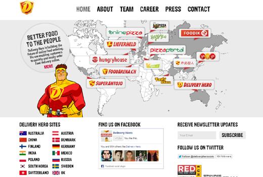 Foodpanda-Investor Phenomen Ventures investiert nun auch in Delivery Hero