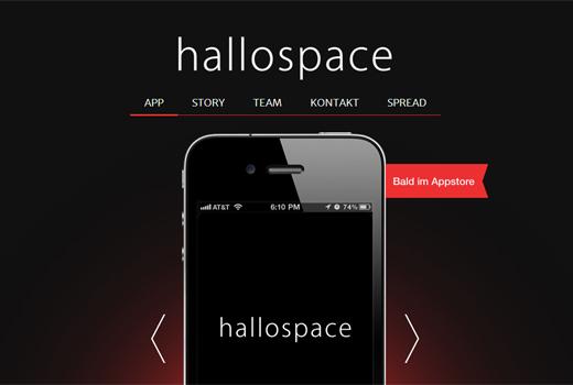 Start-up-Radar: hallospace