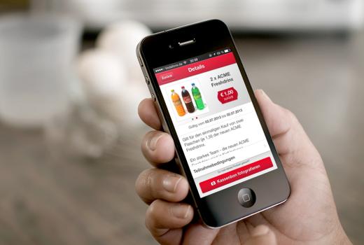 Foto der scondoo-App mit Angebotsdetails