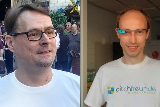 """""""Wir lieben Mobile"""" – Thomas Keup und Thorsten Claus von pitchfreunde"""