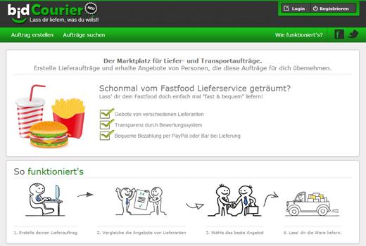 5 neue Startups: BidCourier, startupwalls.com, Tagback, GrabSicht, student-law