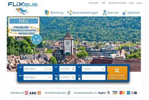 5 neue Deals: Flixbus, minubo, Divimove, Keeeb, Bergfürst