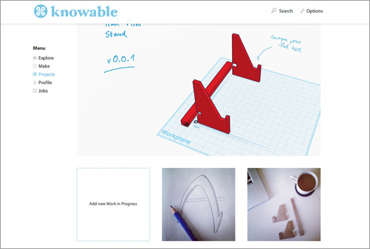 knowable: Kollaborations-Plattform für DIY-Bastler