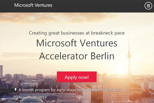 Kurzmitteilungen: Microsoft Accelerator, Modomoto, Stuffle, spacido, Contec