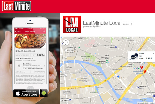 LastMinute Local.de – Springer setzt auf Mobile Couponing