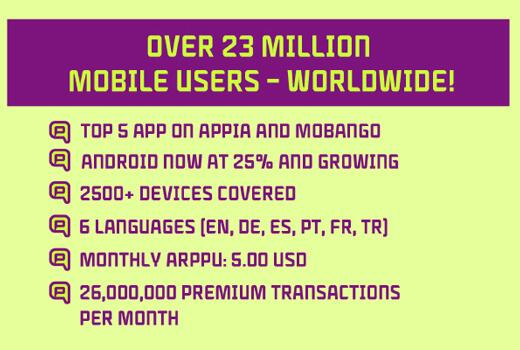 qeep erobert weiter die Welt: Schon 24 Millionen Nutzer