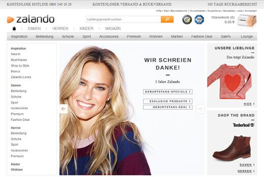 4 neue Deals: zalando, Stuffle, Aladoo, Avenso