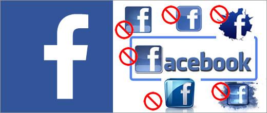 Facebook Logo Verwenden