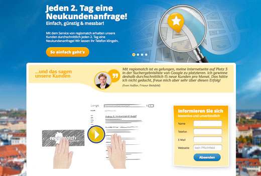 5 neue Start-ups: Regiomatch, Orat.io, Weactive, Linguport, Lizzar