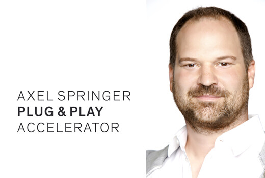 Jörg Rheinboldt heuert bei Axel Springer Plug and Play an