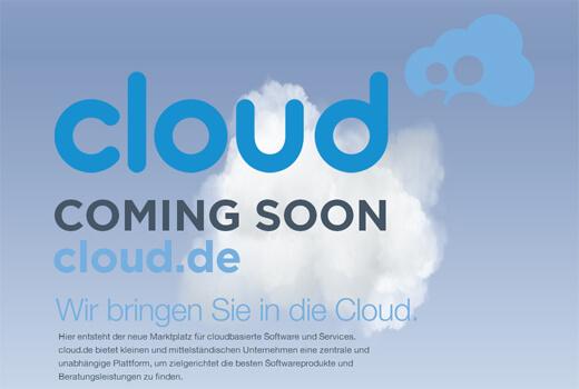 cloud.de will als Marktplatz bestehen