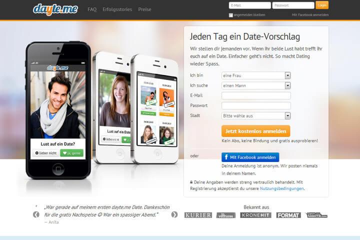 Online-Dating ist doof – meint dayte.me