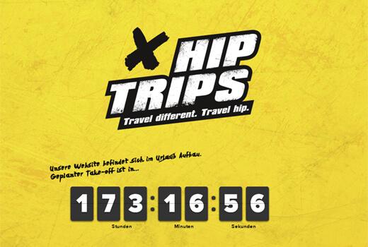 Hiptrips schickt Onliner auf die Reise