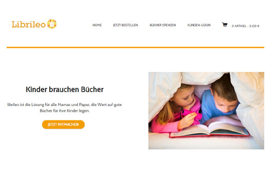 librileo bietet Kinderbücher im Abo – kirondo-Gründer startet neues Projekt