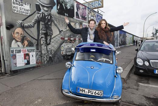 parku öffnet Autofahrern in Berlin die Schranke