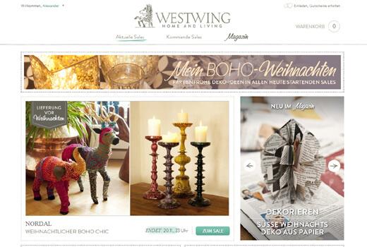 Tengelmann investiert Millionenbetrag in Westwing