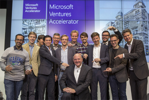 9 Start-ups ziehen in den brandneuen Microsoft Ventures Accelerator mitten in Berlin
