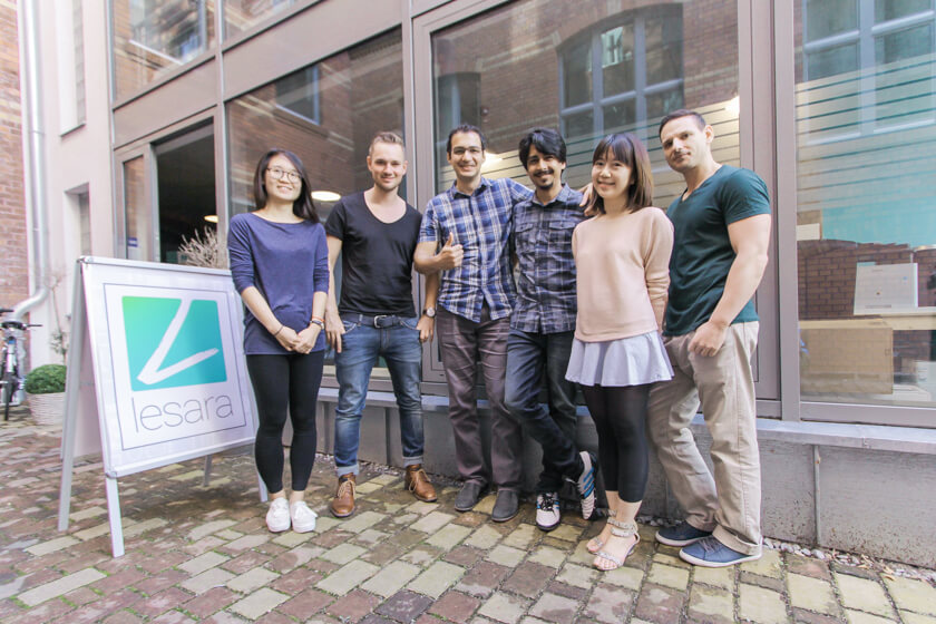 Digitale Leute - Thomas Unruh - Lesara - Das Business Intelligence Team unter der Leitung von Thomas Unruh.