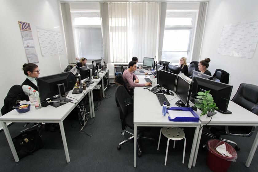 Digitale Leute - Kerstin Timm - Artaxo - Das Team von Kerstin Timm bei Artaxo in Hamburg.