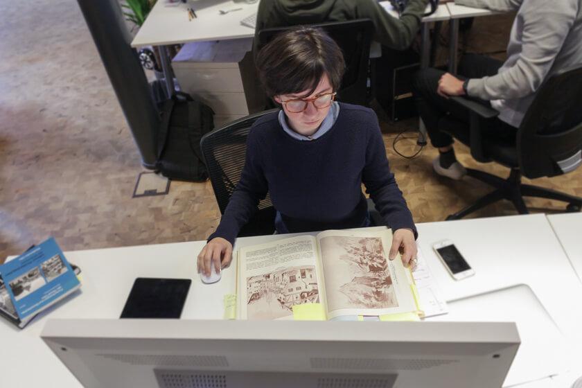Digitale Leute - Mariana Gütt - Demodern - Mariana arbeitet wenig apologetisch, sondern fragt sich, was für den Erfolg des Projektes notwendig ist.