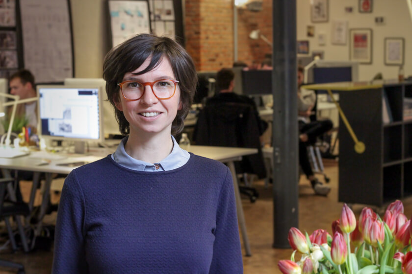 Digitale Leute - Mariana Gütt - Demodern - Mariana Gütt im Demodern-Office in Hamburg.
