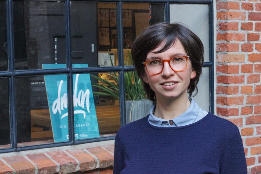 Digitale Leute - Mariana Gütt - Demodern - Mariana ist seit etwas über einem Jahr bei Demodern.