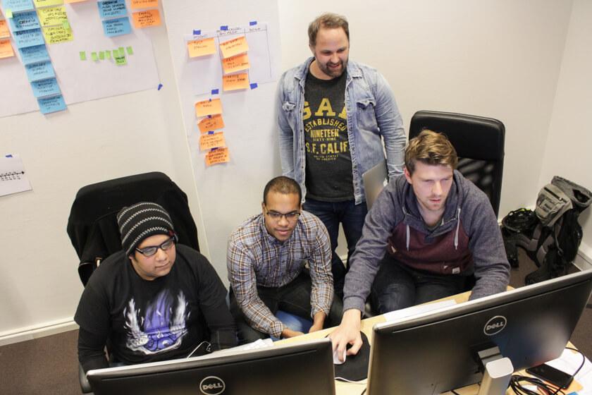 Digitale Leute - Sebastian Hoop - CollectAI - Sebastian möchte den Teams ein wenig mehr Struktur verleihen.