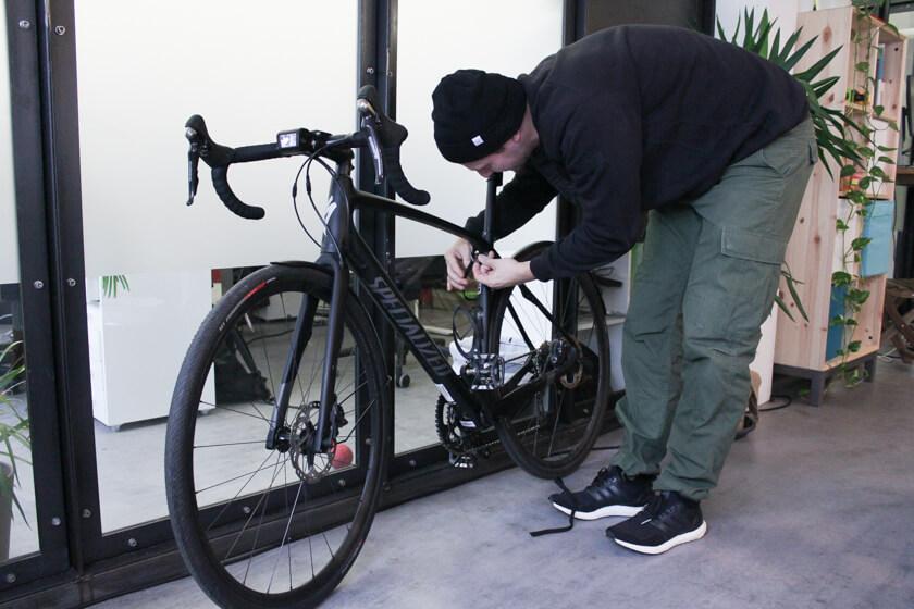 Digitale Leute - Ingo Ellerbusch - Jimdo - Ingo fährt täglich mit dem Fahrrad zur Arbeit.