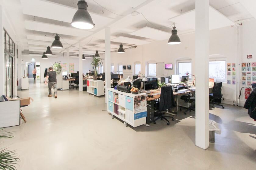 Digitale Leute - Ingo Ellerbusch - Jimdo - Ein weitereer Office Space bei Jimdo in Hamburg.