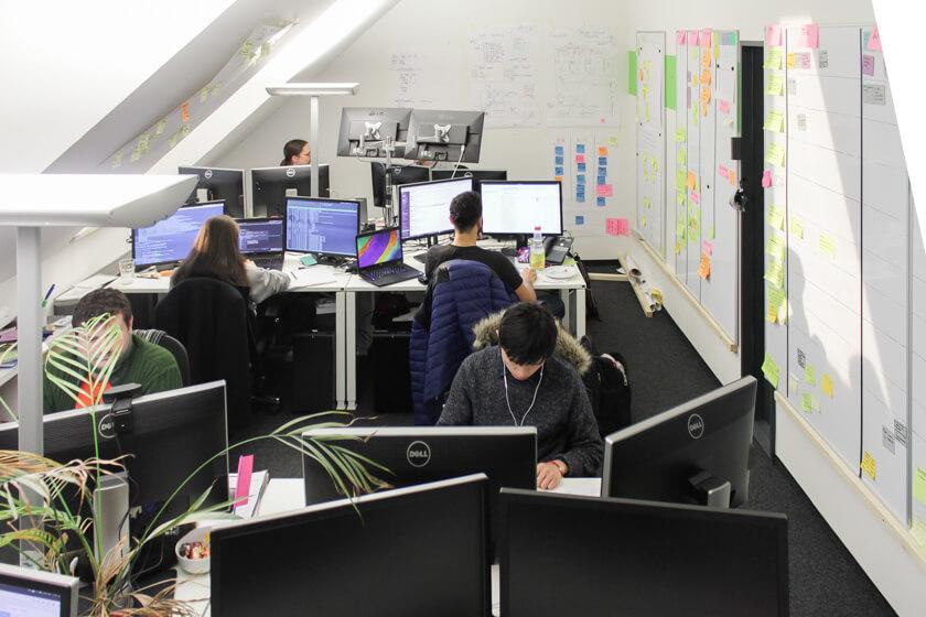 Digitale Leute - Sandro Gießl - eGym - das Office von eGym im München ist ein Musterbeispiel an effektiver Raumnutzung.