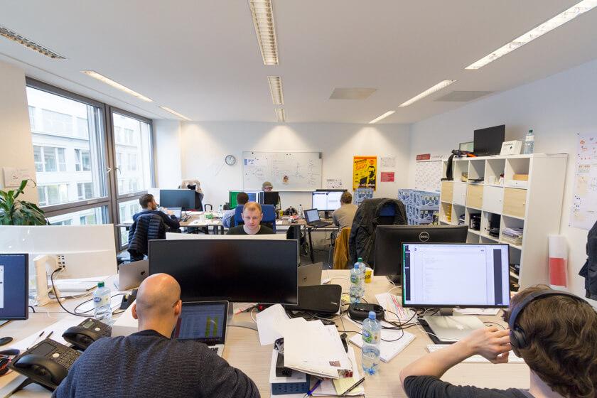 Digitale Leute - André Hoendgen - Justix - Noch befindet sich Justix im Mediapark 5 - der Umzug soll aber noch 2017 starten, denn die Räume werden langsam knapp.