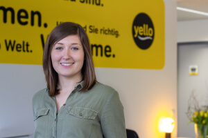 Jessica Hug, Communication Managerin bei Yello