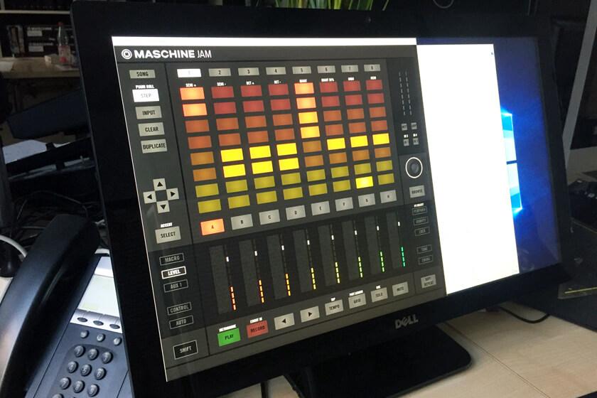 Digitale Leute - Steffen Dierolf - Native Instruments - Maschine Jam als Touch-Prototyp