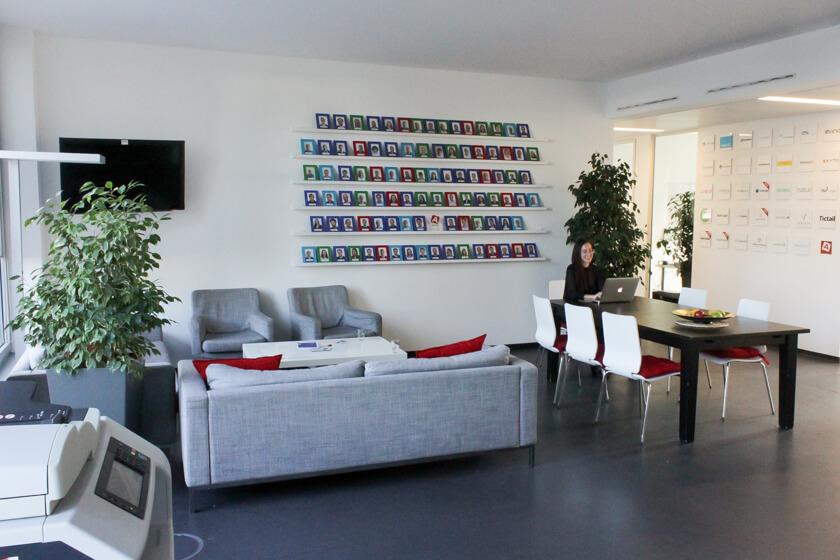 Digitale Leute - Marimar Hollenbach - Project A - Die Räumlichkeiten bei Project A sind hell und funktional.