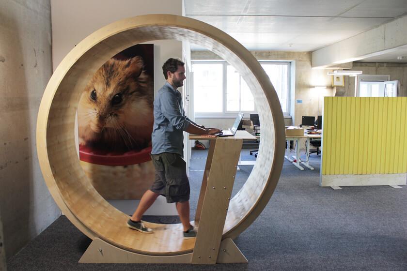 Digitale Leute - Christian Dommers - Eyeo GmbH - Das Hamsterrad ist aus orthopädischen Gründen zu empfehlen