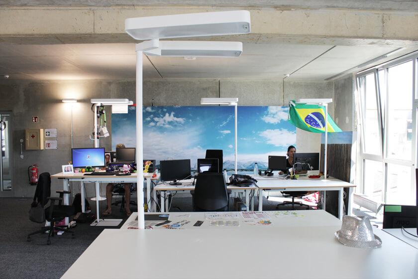 Digitale Leute - Christian Dommers - Eyeo GmbH - Großraumbüro im Herzen Ehrenfelds