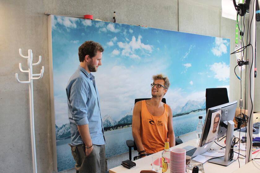 Digitale Leute - Christian Dommers - Eyeo GmbH - Christian Dommers im Gespräch mit dem Holländer