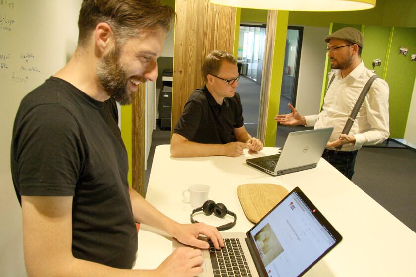 Digitale Leute - Hendrik Neumann - Chefkoch - Gemeinsames Arbeiten bei Chefkoch
