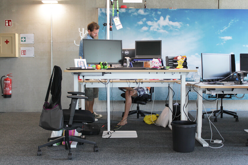 Digitale Leute - Christian Dommers - Eyeo GmbH - Barfuß ist kein Problem