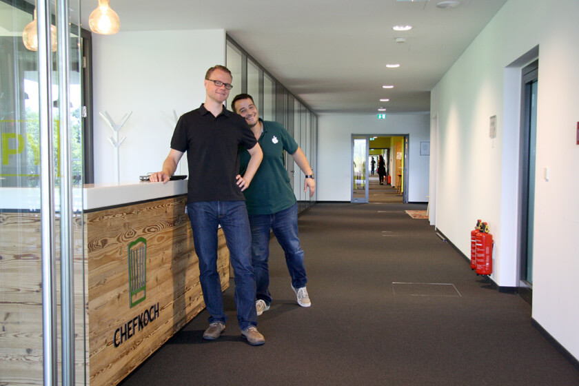 Digitale Leute - Hendrik Neumann - Chefkoch - Ein Kollege goes goofy
