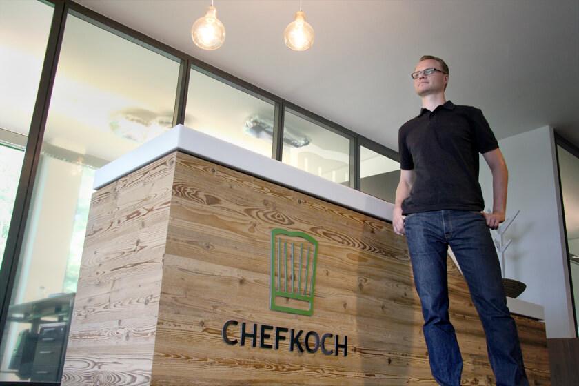 Digitale Leute - Hendrik Neumann - Chefkoch - Am Tresen von Chefkoch