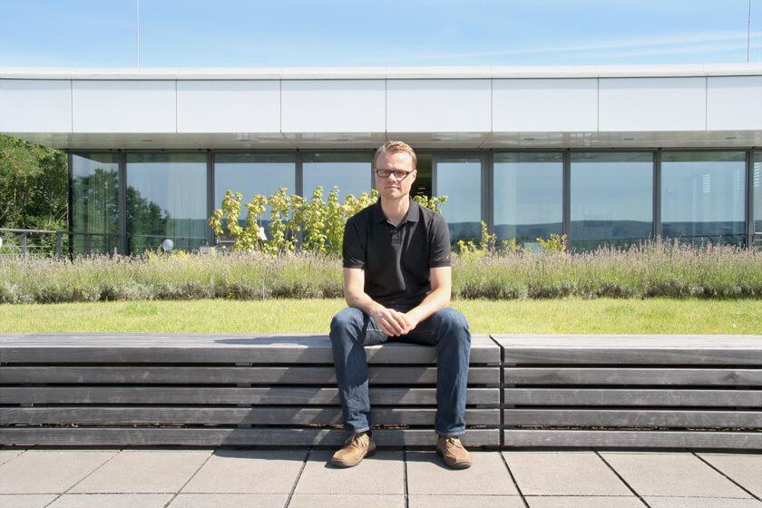Digitale Leute - Hendrik Neumann - Chefkoch - Auf der Terasse finden auch Grillparties statt