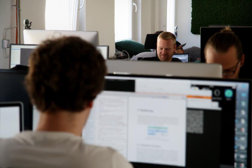 Digitale Leute - Sebastian Deutsch - 9elements - Sebastian und seine Kollegen