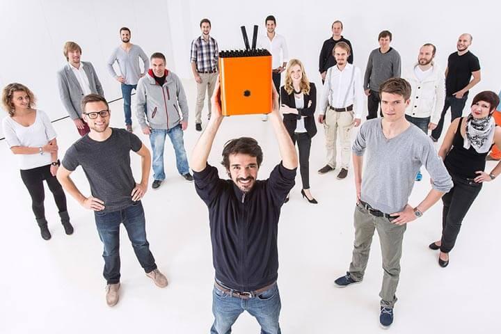 Glückwunsch! Protonet ist das Start-up des Jahres