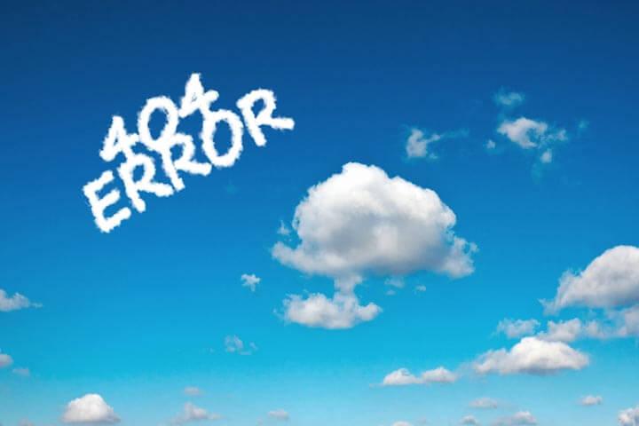 404 Error – 5 richtig gelungene Fehlerseiten