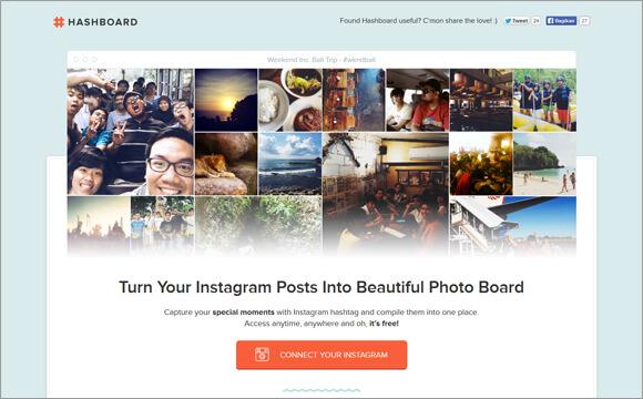 instagram-hashboard