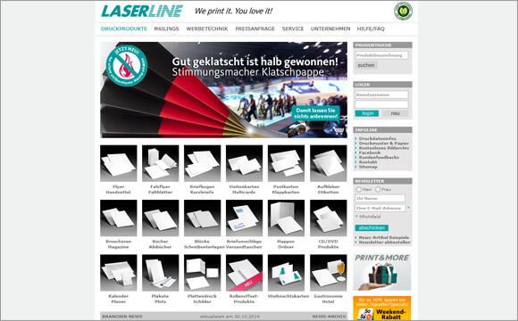 online-druckerei-laser-line